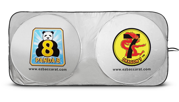 Dragon 7 Panda 8 Car Sunshade